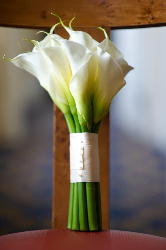 Memorable Wedding Calla Lily Bouquets For Weddings