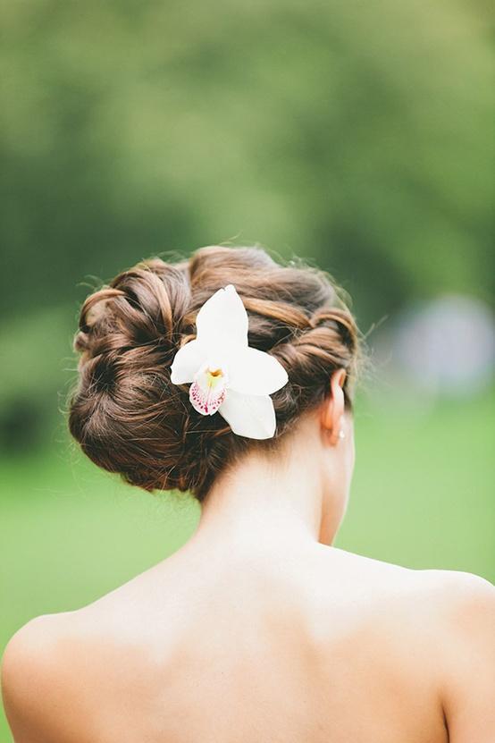 Mariage - Coiffures de mariée simples ♥ Mariage Coiffure Chignons Side