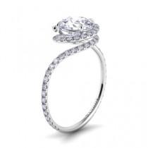 wedding photo - Роскошные свадебные кольца Алмазный ♥ уникальных обручальное кольцо