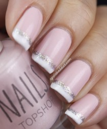 wedding photo - Bridal Nail Designs ♥ Hochzeits-Nail Art