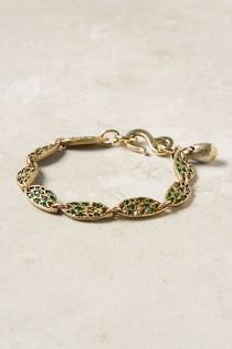 wedding photo - Embedded Earth Bracelet - B