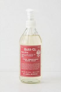 wedding photo - Barr-Co. Pure Vegetable Hand Soap - B