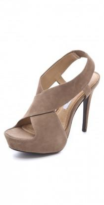 wedding photo - Zia Suede Platform Sandals