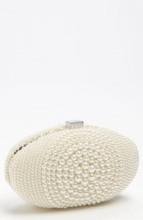 wedding photo - Embrague de la boda nupcial Pearly ♥ Gorgeous embrague / bolso
