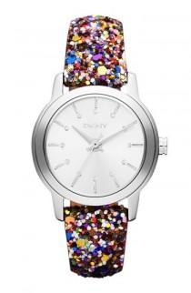 wedding photo -  DKNY Colorful Sparkle Strap Watch | DKNY Renkli Parlak Kayisli Saat