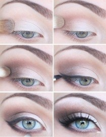 wedding photo - Wedding ♥ il miglior trucco semplice e naturale Smokey Eye Makeup Wedding