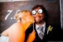 wedding photo - Funny Photo Booth Props Lunettes sur un bâton pour Wedding Party ou Parti Bridal Shower ♥ Idée drôle de photo de mariage Booth