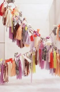 wedding photo - Lots of tassels!