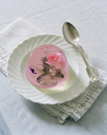 wedding photo -  Pink Rose In Jelly for Wedding Photography by Tim Walker