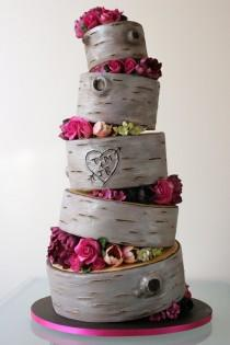 wedding photo - Cute Wedding Cake