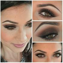 wedding photo - Smokey Eyes Makeup