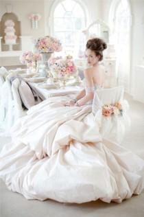 wedding photo - Marie Antoinette Themed Shoot
