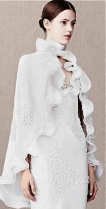 wedding photo - Alexander McQueen Bridal Cloak