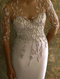 wedding photo - Marchesa Beadwork