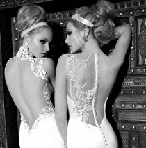 wedding photo - Open Back Wedding Dress