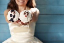 wedding photo - Cute Wedding Cupcakes