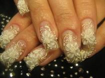 wedding photo - 19 nuptiale magnifique Ideas à ongles