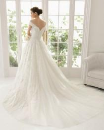 wedding photo - White/Ivory Lace Wedding Dress Bridal Gown Custom Size 6 8 10 12 14 16 18