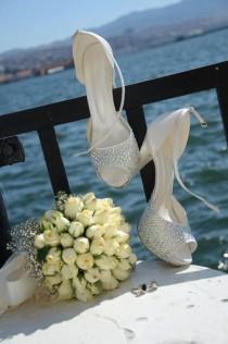wedding photo - SWAROVSKI Wedding shoes    - New