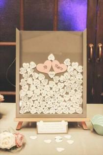 wedding photo - Alternative Drop Top Wedding Guest Book