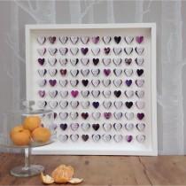 wedding photo - Wedding Guest Book Framed Wall Art