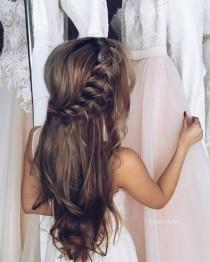 wedding photo - 35 Wedding Updo Hairstyles For Long Hair From Ulyana Aster