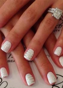 wedding photo - Bridal Nail Art Design