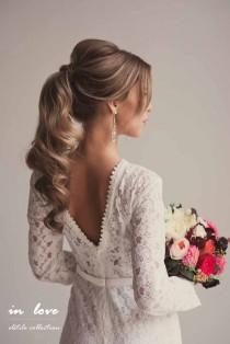 wedding photo - 33 Favourite Wedding Hairstyles For Long Hair