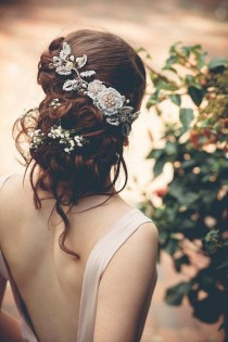 wedding photo - Wedding Hairstyle and Accessories