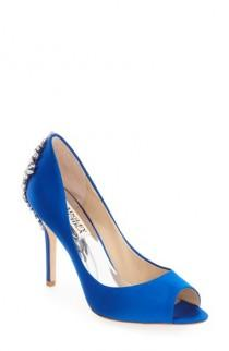 wedding photo - Badgley Mischka 'Nilla' Peep Toe Pump (Women)