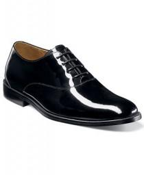 wedding photo - Florsheim Florsheim Kingston Patent Leather Plain Toe Oxfords