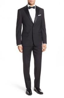wedding photo - Nordstrom Men's Shop Classic Fit Wool Tuxedo