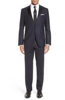 wedding photo - BOSS 'Haakon/Grady' Trim Fit Wool Blend Tuxedo