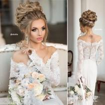 wedding photo - hairstyle
