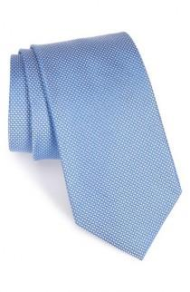 wedding photo - Nordstrom Men's Shop Dot Silk Tie