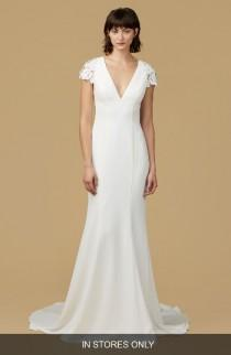 wedding photo - nouvelle AMSALE Amanda Mermaid Gown (In Stores Only)