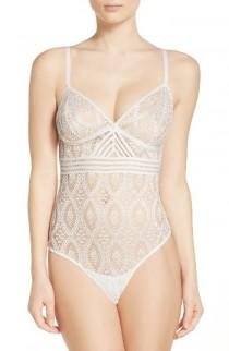 wedding photo - ELSE Lace Thong Bodysuit