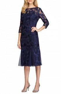 wedding photo - Alex Evenings Lace Midi Dress