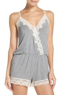wedding photo - Flora Nikrooz Stretch Modal Lounge Romper