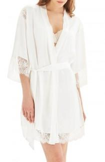 wedding photo - Topshop Bride La Bohemian Short Robe
