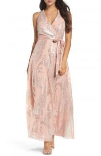 wedding photo - Chetta B Print Maxi Dress