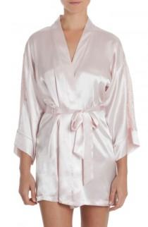 wedding photo - In Bloom by Jonquil Satin Robe