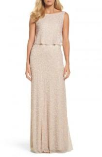 wedding photo - Adrianna Papell Embellished Popover Gown