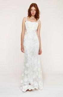 wedding photo - Heartloom Andie Illusion Side Lace Mermaid Gown