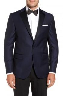 wedding photo - David Donahue Reed Classic Fit Dinner Jacket