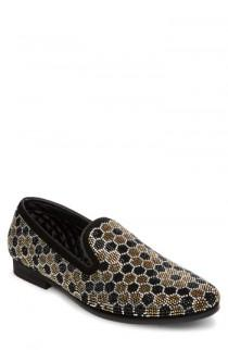 wedding photo - Steve Madden Caspian Studded Venetian Loafer (Men)
