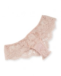 wedding photo - LA Ballerine Lace Briefs, Pink