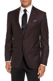 wedding photo - Ted Baker London Jack Trim Fit Wool Dinner Jacket
