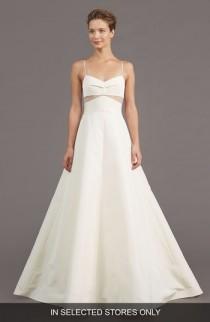 wedding photo - Amsale Uma Silk Blend A-Line Gown