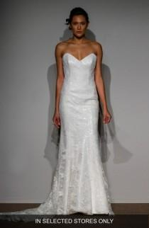 wedding photo - Anna Maier Sylvie Embellished French Lace Gown